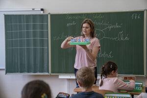 Ľubica Demčáková, učiteľka na prvom stupni v Evanjelickej základnej škole, Prešov