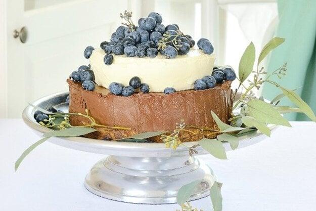 Čokoládový cheesecake bez cukru