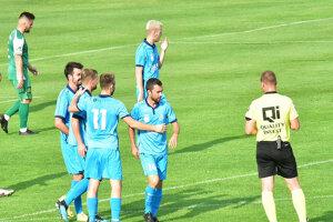 Futbalisti Šale sa tešili z ôsmich gólov v novozámockej sieti.