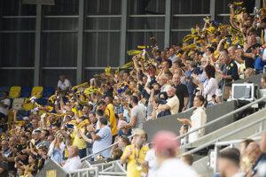 Fanúšikovia DAC Dunajská Streda v septembri tohto roka.