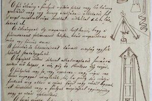 Ukážka zo vzácneho rukopisu.