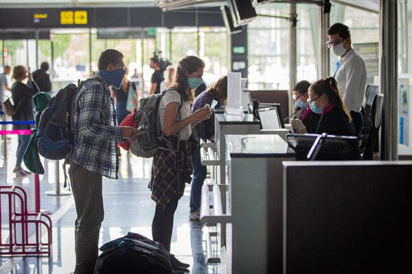 Po januári a februári bol august na letisku z hľadiska počtu vybavených cestujúcich tretím najsilnejším mesiacom v roku.