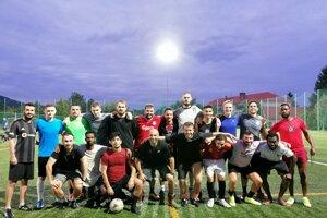 Futbalový klub The Dragons.