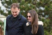 Igor Matovič a jeho manželka.