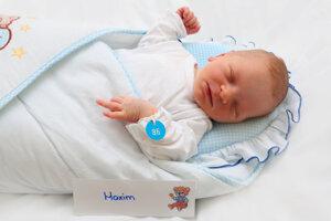 Maxim Hurajt z Malinovej sa narodil 22.8.  v Bojniciach