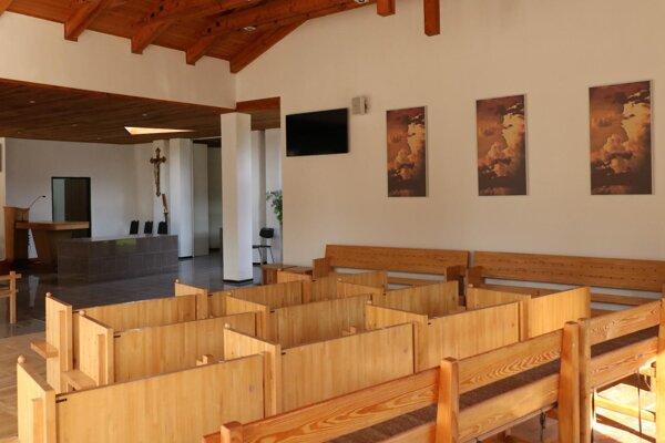 Zrekonštruovaný interiér.