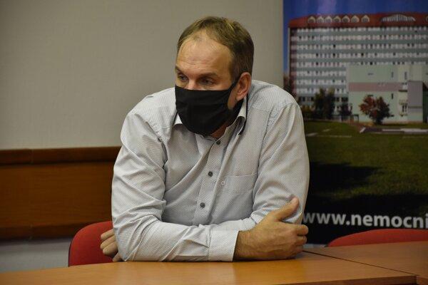 Odchádzajúci riaditeľ popradskej nemocnice Anton Hanušín.