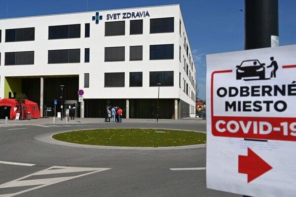 Nemocnica v Michalovciach.