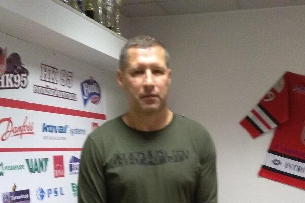 Manažér HK 95 Ján Zlocha.