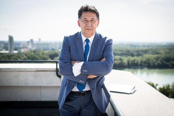 Minister životného prostredia Ján Budaj.