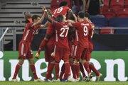Hráči Bayernu po strelení gólu na 2:1.