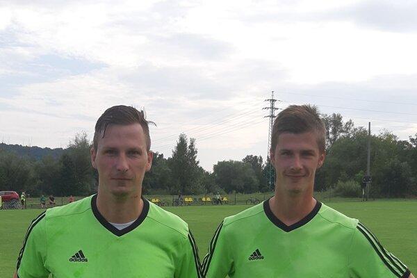 Tibor Drienka (vľavo) s bratom Borisom.