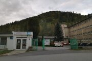 Nemocnica v Krompachoch.