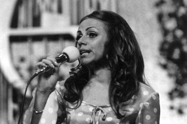 Speváčka Eva Kostolányiová