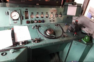 Kabína nefunkčnej lokomotívy ožije.
