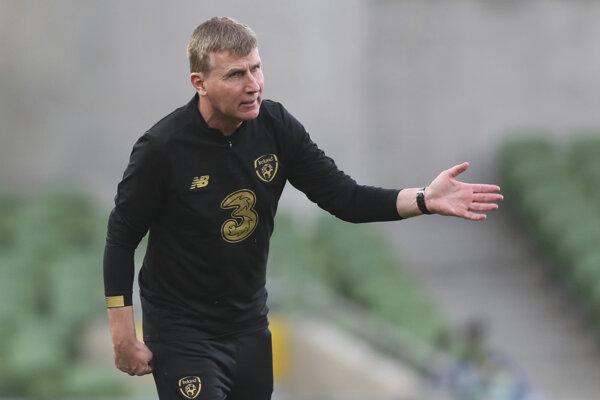 Tréner írskej reprezentácie Stephen Kenny.