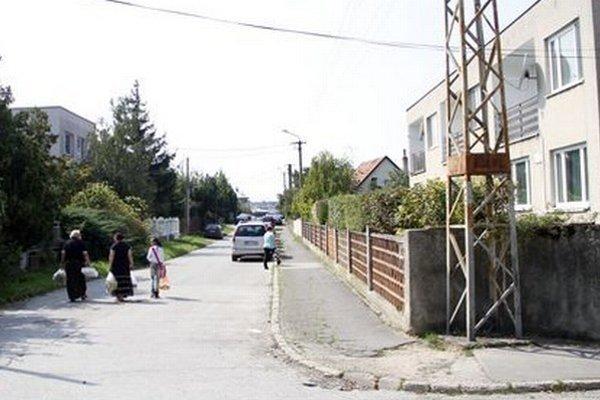 Borová ulica.