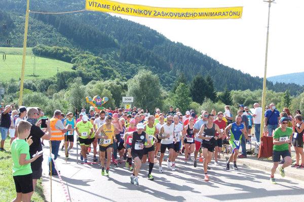 Žaškovský minimaratón ostáva najstarším podujatím na Slovensku, ktorý sa koná nepretržite.