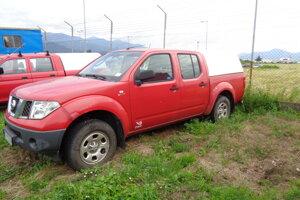 Odpredaj cestného motorového vozidla zn. NISSAN NAVARA. Vyvolávacia cena 3300 eur.