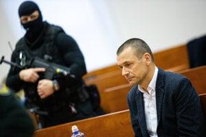 Peter Tóth na Špecializovanom trestnom súde 15. januára 2020.