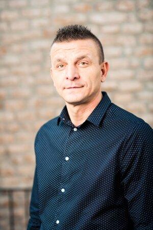 Milan Minárech, šéf odborov.