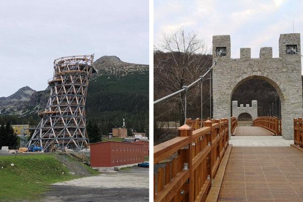 Anticenu za architektúru Brutus získali vyhliadková veža na Štrbskom Plese aj cyklomost vo Veľkom Šariši.