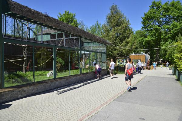 Zoologická záhrada v Spišskej Novej Vsi.