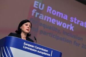 Podpredsedníčka Európskej komisie pre hodnoty a transparentnosť Věra Jourová.