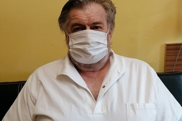 Známy kysucký pediater Jozef Marec, primár detského oddelenia Kysuckej nemocnice v Čadci.