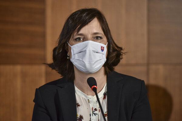 Ministerka investícií, regionálneho rozvoja a informatizácie SR Veronika Remišová (Za ľudí).