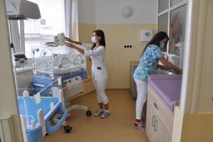 Nové priestory gynekologicko-pôrodníckeho oddeleniaa HNsP v Trstenej.