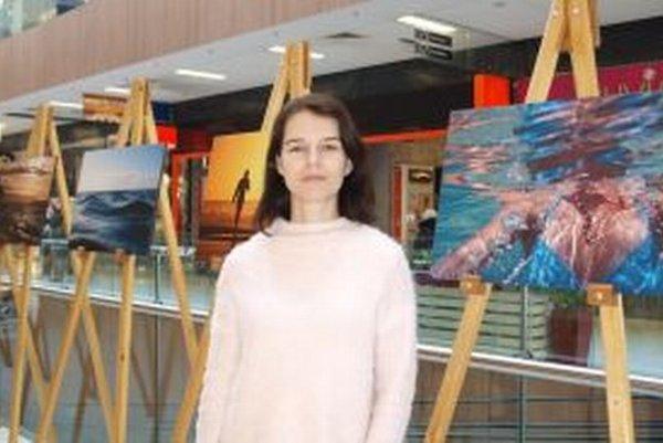 Výstava Alexandry Užíkovej potrvá do 1. marca.