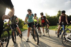 Organizátorka Cyklométy začala pravidelne bicyklovať na jar. Kým prišla zima, prestalo sa jej chcieť chodiť pešo.