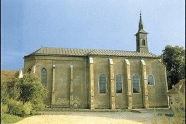 Kostol sv. Jána Krstiteľa a kláštor františkánov.