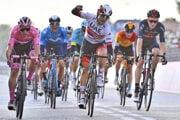 Diego Ulissi vyhráva 13. etapu pretekov Giro d'Italia 2020.
