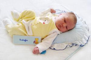 Andrej Baláž z Prievidze sa narodil 13.10. v Bojniciach