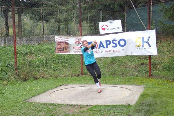 Simona Kereškényiová doma ovládla kategória junioriek.