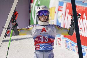 Nór Lucas Braathen triumfoval v obrovskom slalome v Söldene.