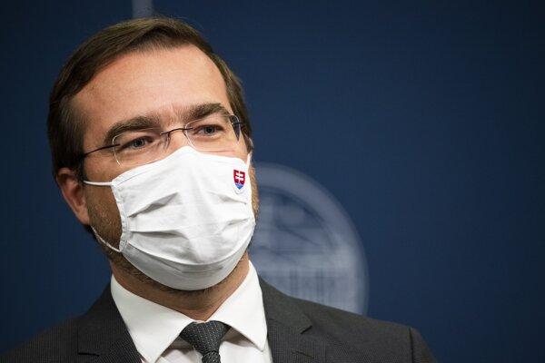 Minister zdravotníctva SR Marek Krajčí (OĽaNO).