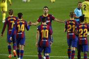 Futbal FC Barcelona - Ferencváros Budapešť, Liga majstrov (ilustračná fotografia).