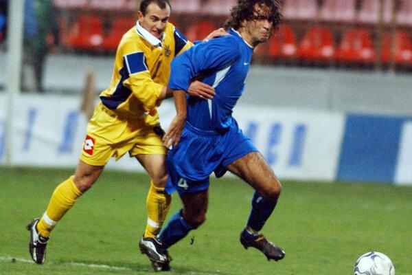 Peter Hlinka (vpravo) si neskôr zahrali i za seniorskú reprezentáciu Slovenska.