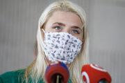 Marta Fandlová z iniciatívy Mladí za klímu.