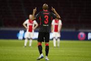 Brazílčan Fabinho v zápase proti Ajaxu Amsterdam.