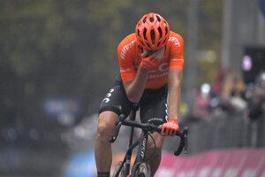 Josef Černý po víťazstve na Giro d'Italia 2020.