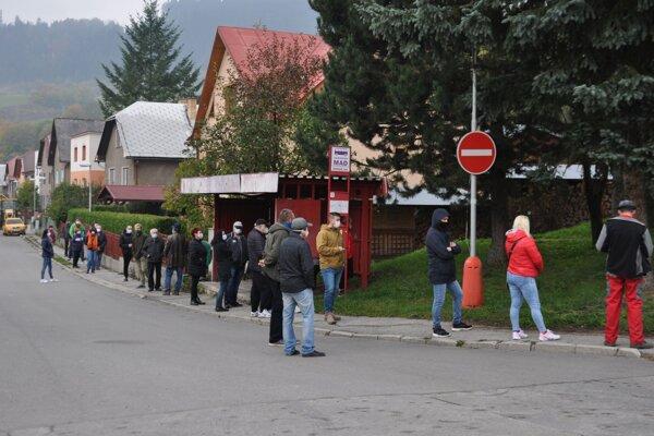 Polovica z radu v Záskalí.