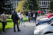 Celoplošné testovanie na Covid-19 na Slovensku.