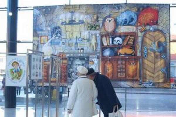 Výstava prác Miroslava Regitku v Nitre potrvá do 2. februára.