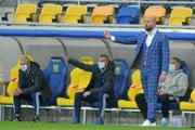 Ivan Kmotrík ml. v zápase Dunajská Streda - Slovan Bratislava.