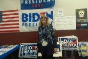 Karen Zehrová z Ohia aktuálne pracuje pre kampaň kandidáta demokratov Joea Bidena.