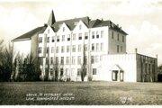 Budova učiteľského ústavu postavená v rokoch 1909-1911.